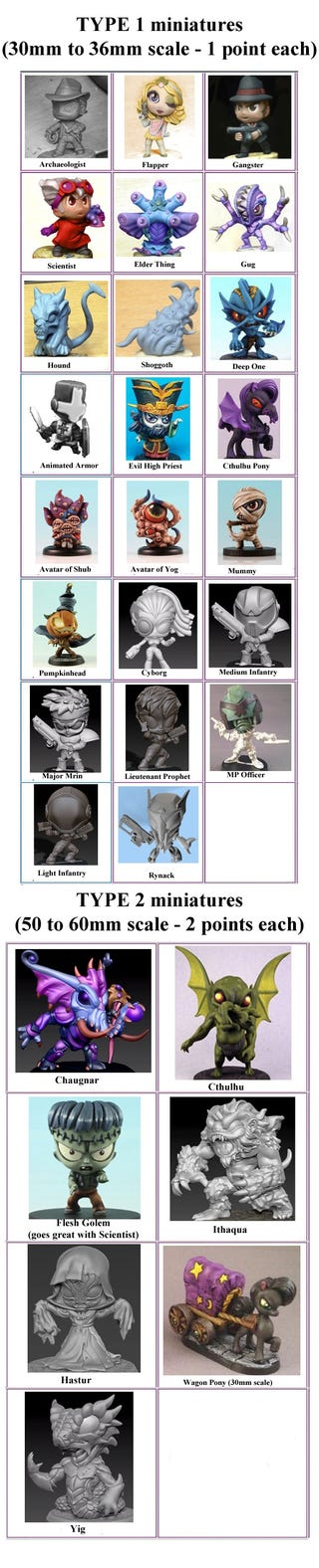 Illustration for article titled Would you pay $10 for a David Lo Pan miniature?  How about a Cthulhu My Little Pony?