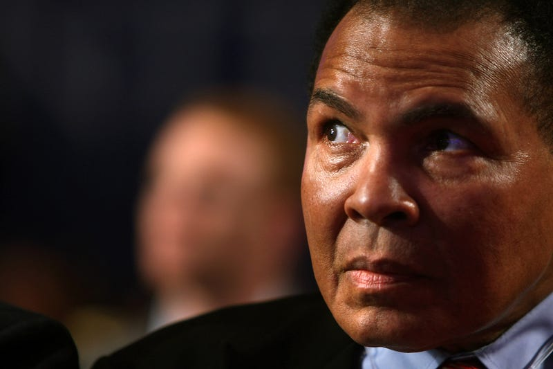 Muhammad Ali in 2008 Spencer Platt/Getty Images