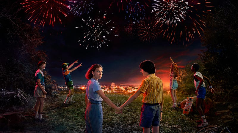 Illustration for article titled Netflix welcomes us all to a rockin' 1985 by announcing a premiere date for Stranger Things 3