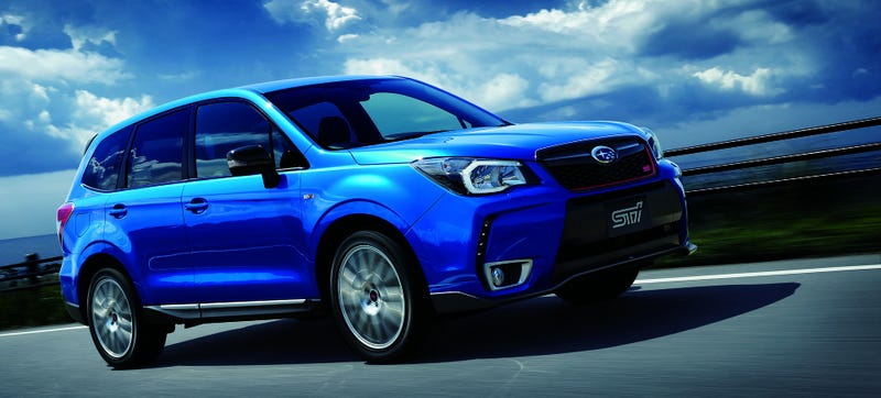 The 2015 Subaru Forester tS Is The Hottest-Looking Kid