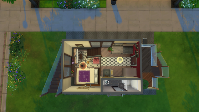 There s A Massive Tiny House Community In The Sims 4
