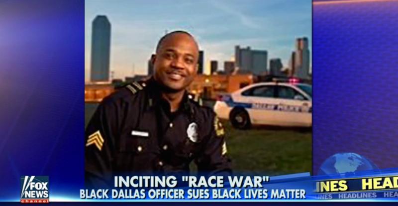 Dallas Police Sgt. Demetrick PennieFox News screenshot