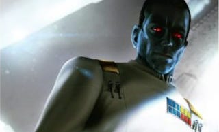 Image: Thrawn cover from Star Wars Celebration special edition, Del Rey