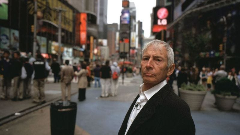 Illustration for article titled UPDATED: The Jinx's Robert Durst has been arrested for murder