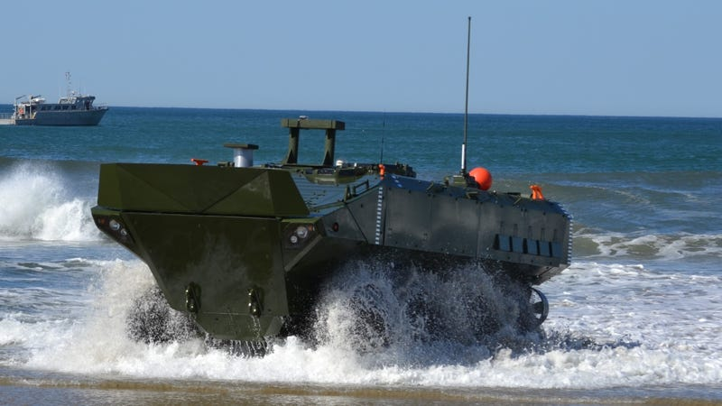 The Amphibious Combat Vehicle, or ACV.