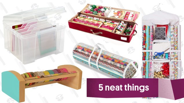 Five Gift Wrap Organizers You Need This Holiday Season