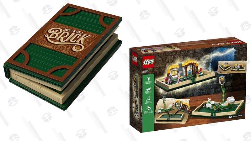 LEGO Pop-Up Brick Book   $56   Amazon