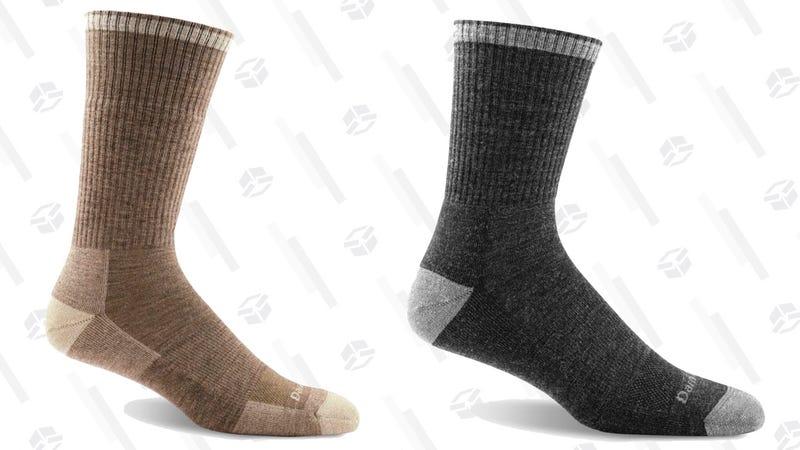 Two-Pack Darn Tough Cushioned Work Socks | $30 | MassDrop