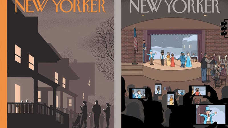 Illustration for article titled All Together Now: Chris Ware Nails It With This New Yorker Cover