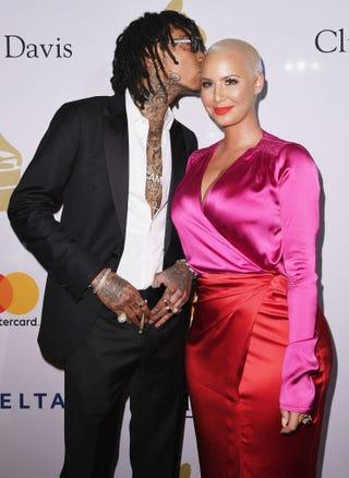 Wiz Khalifa and Amber Rose (Kevork Djansezian/Getty Images)