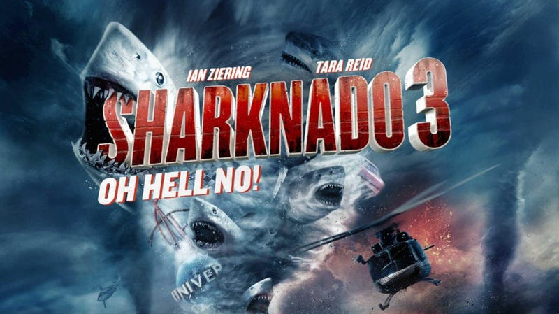 Illustration for article titled Sharknado 3 was better than I expected