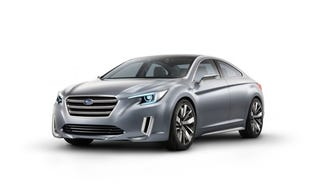 Illustration for article titled Subaru Legacy Concept to Debut at LA Auto Show
