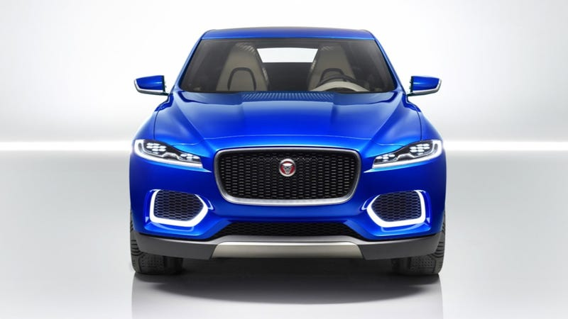 Illustration for article titled Jaguar C-X17 Crossover Concept: This Is It