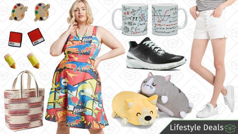 Illustration for article titled Wednesday's Best Lifestyle Deals: Reebok, ThinkGeek Pi Day Sale, GAP, and More