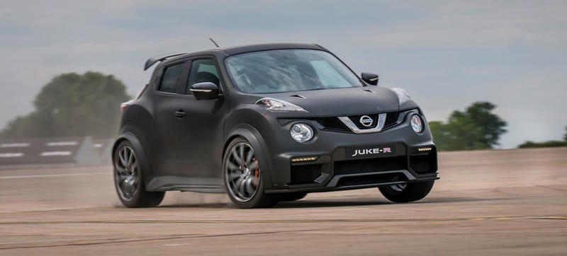 Illustration for article titled Oh Hell Yes The Nissan Juke-R Has 600 HP Now