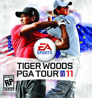 Illustration for article titled For the Second Time, Tiger Woods will Share the Cover of His Own Game