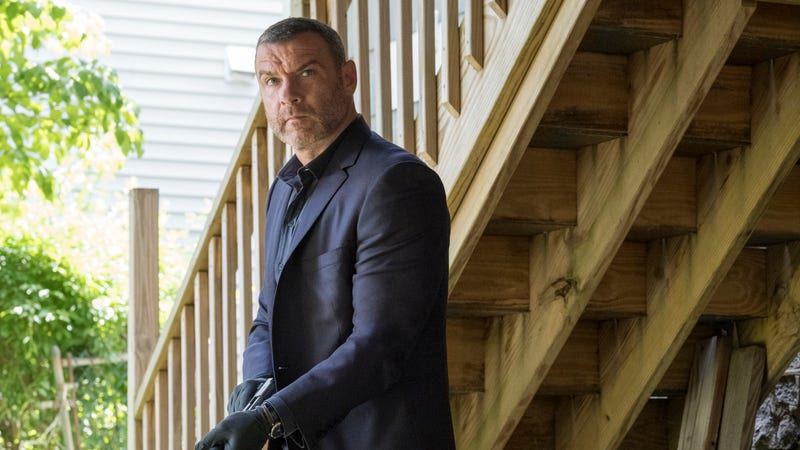 Props to Liev Schreiber, though: This picture looks like it could have come from any Ray Donovan episode filmed in the last 30 years.