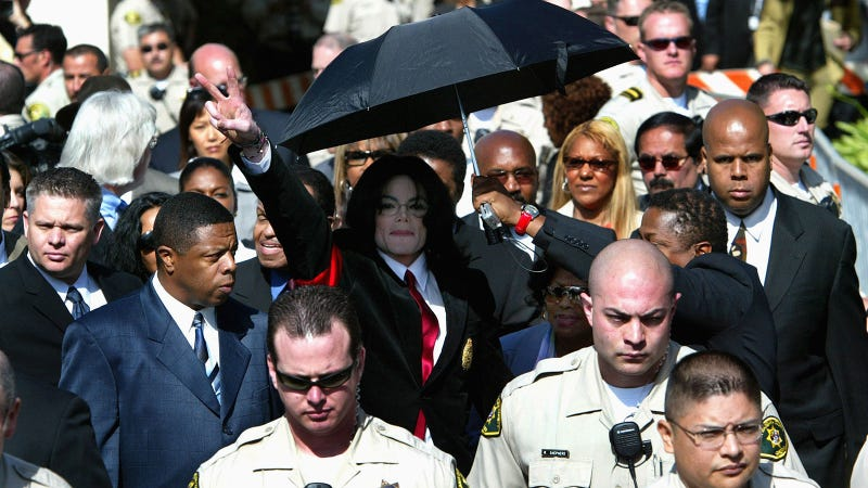 Illustration for article titled Michael Jackson's Family 'Furious' Over Media Coverage of Molestation Doc, Labels It 'Public Lynching'