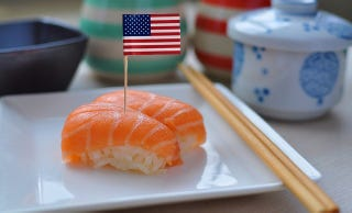 Illustration for article titled How Americans Changed The Way Japanese People Ate Sushi
