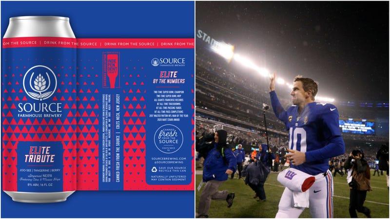 Illustration for article titled Eli Manning gets his own beer