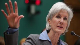 Health and Human Services Secretary Kathleen SebeliusChip Somodevilla/Getty Images