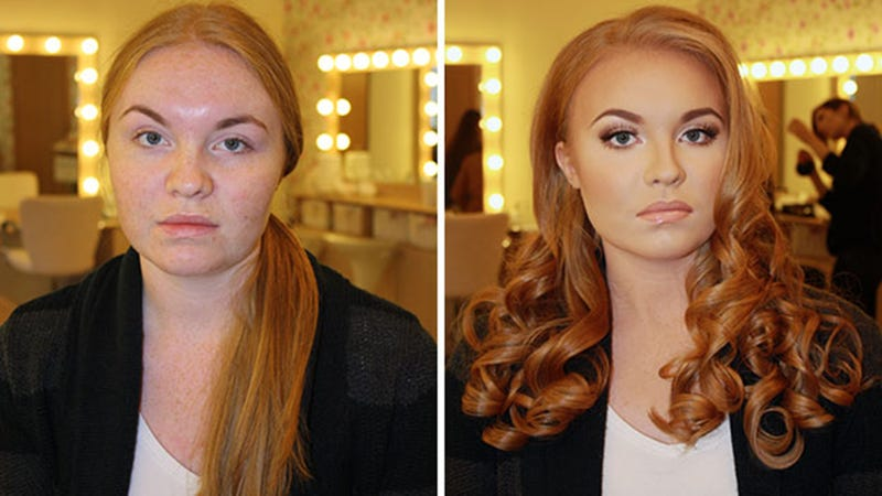 Illustration for article titled This Incredible Makeup Transformation Is, Well, Absolutely Incredible