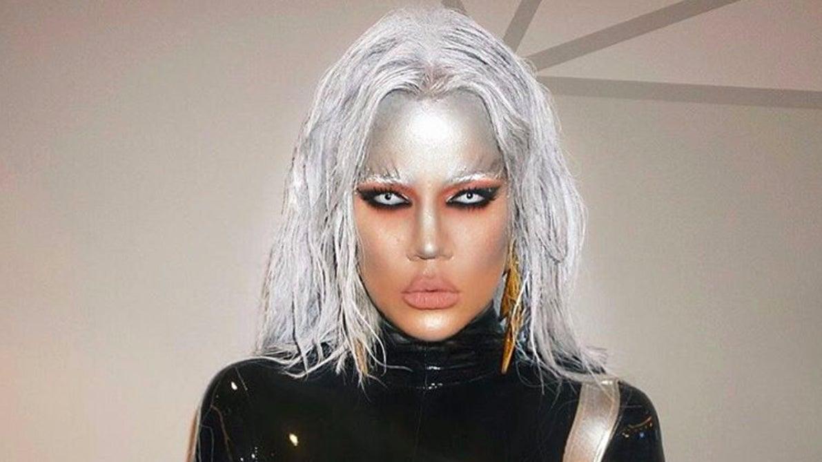 sc 1 st  io9 - Gizmodo & Khloe Kardashianu0027s Storm Halloween Costume Is Freakinu0027 Terrible