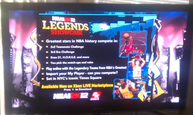 Illustration for article titled NBA 2K12's Legendary Teams Are Pay-to-Play for Online Multiplayer
