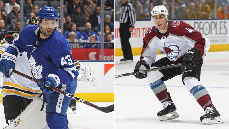 Illustration for article titled The Maple Leafs And Avalanche Pulled Off A Wonderful Trade