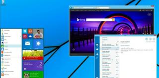 Illustration for article titled El antiguo menú de inicio vuelve a Windows 8.1, y ahora con baldosas