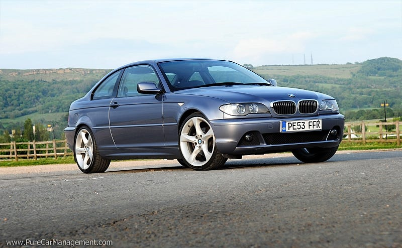 Illustration for article titled Holy crap the E46 is cheap