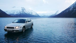Illustration for article titled What's Better Than A Subaru That Can Drive On Water?