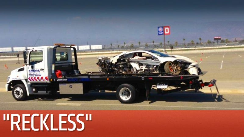 Illustration for article titled McLaren Driver Allegedly Crashed $250K Supercar Into Subaru BRZ After Ten Minutes On Track [UPDATES]