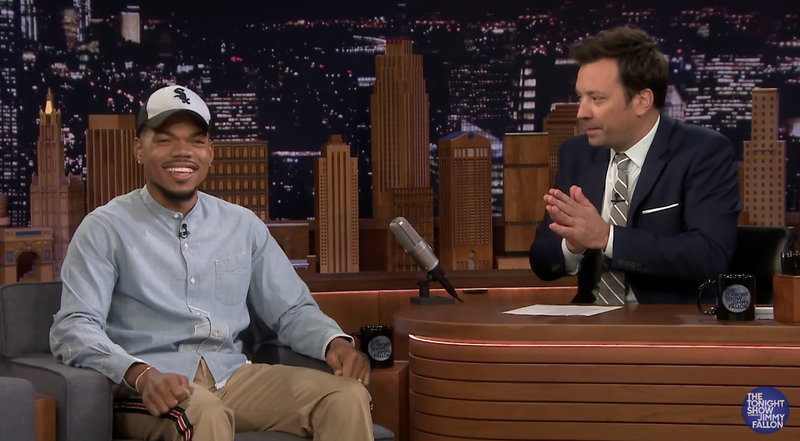 Illustration for article titled Chance the Rapper Reveals Title, Release Date of Debut 'Owbum' on The Tonight Show With Jimmy Fallon