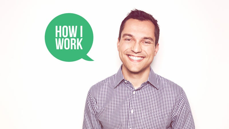 Illustration for article titled I'm Nathan Blecharczyk, Co-Founder of Airbnb, and This Is How I Work
