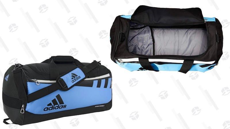 adidas Team Issue Duffel Bag, Collegiate Light Blue, Small | $27 | Amazon