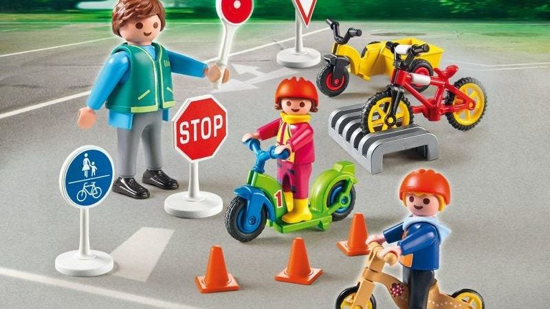 Swallowed Playmobil traffic cone 'in man's lung for 40 years'