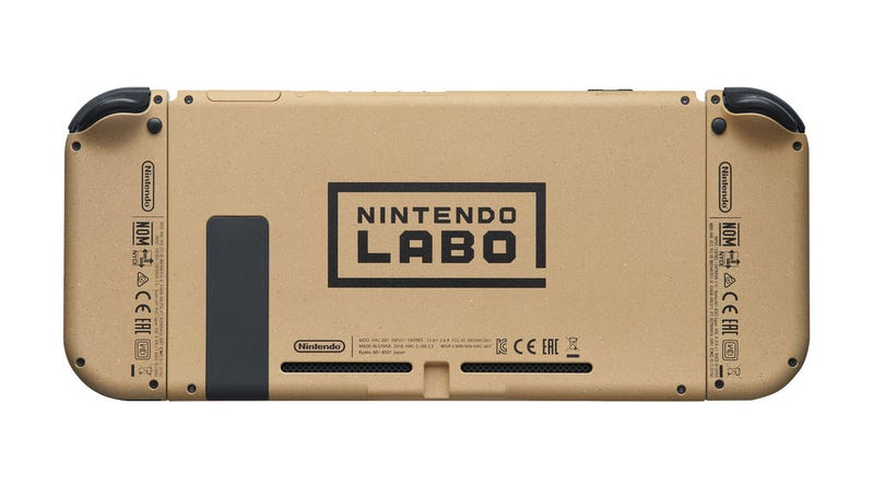 Illustration for article titled Nintendo Made Some Labo-Themed Switches, And I Want One Real Bad