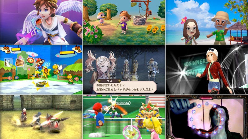 Illustration for article titled Watch New Videos of Paper Mario, Animal Crossing, Fire Emblem, Kid Icarus and More from Nintendo's 3DS Blowout