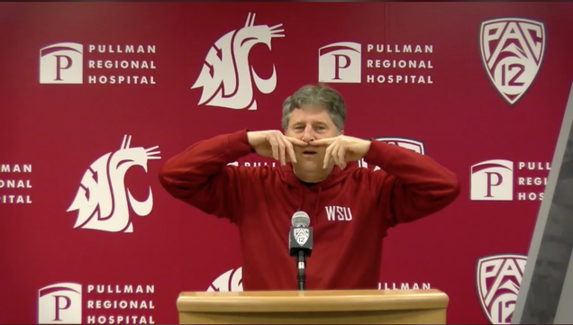 Mike Leach, Convinced Of His Own Cleverness, Tells Unbearably Long Joke About Lip Reading