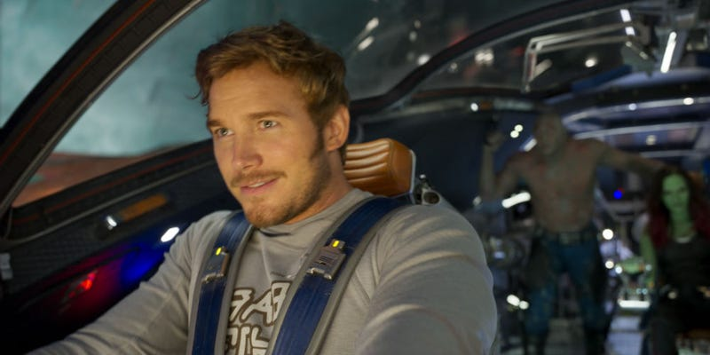 Chris Pratt is back as Star-Lord in Guardians of the Galaxy Vol. 2. All Images: Disney