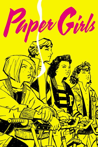 Illustration for article titled Paper Girls, a new comic from Image.