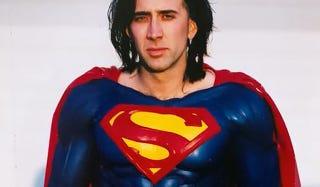 Illustration for article titled Por qué Nicholas Cage hubiera sido un excelente Superman