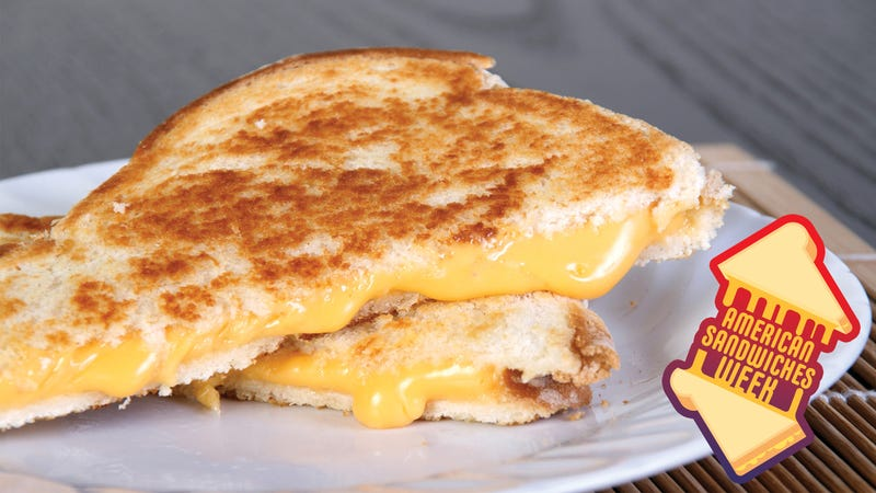 Illustration for article titled Grilled cheese is unconditional love in sandwich form