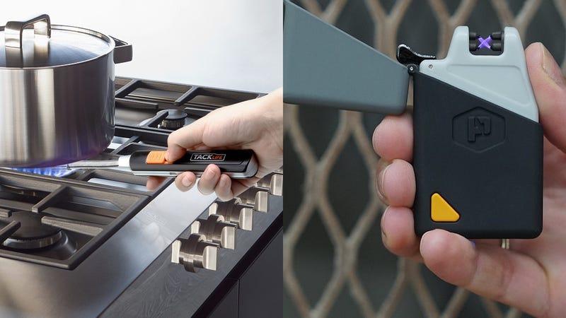 Tacklife Electric Arc Lighter | $10 | Amazon | Promo code TEKPK6SUPower Practical Sparkr Mini Arc Lighter | $19 | Amazon | Promo code L5IMQBFO