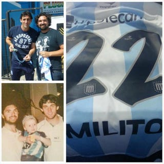 Illustration for article titled This Story Proves That Argentine Striker Diego Milito Is The Best