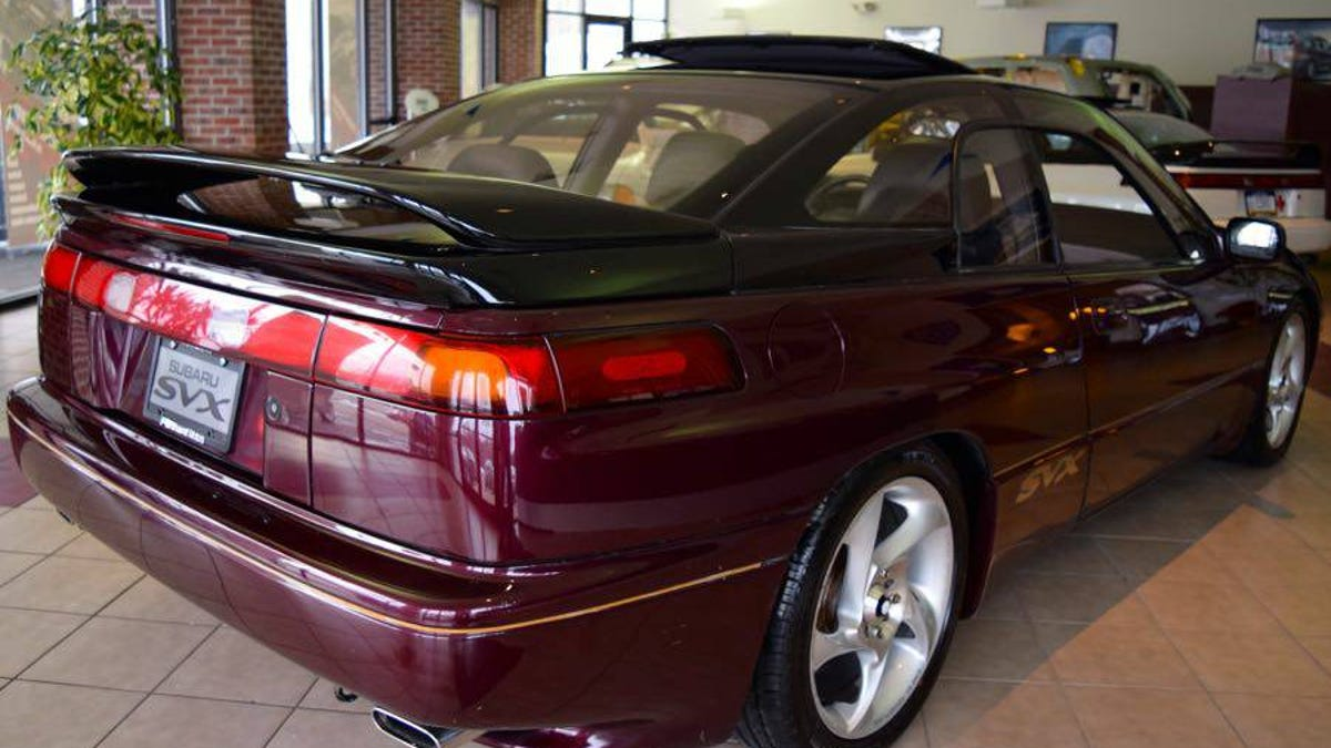 how about this sweet 1992 subaru svx ls l for 6 995 Stanced SVX