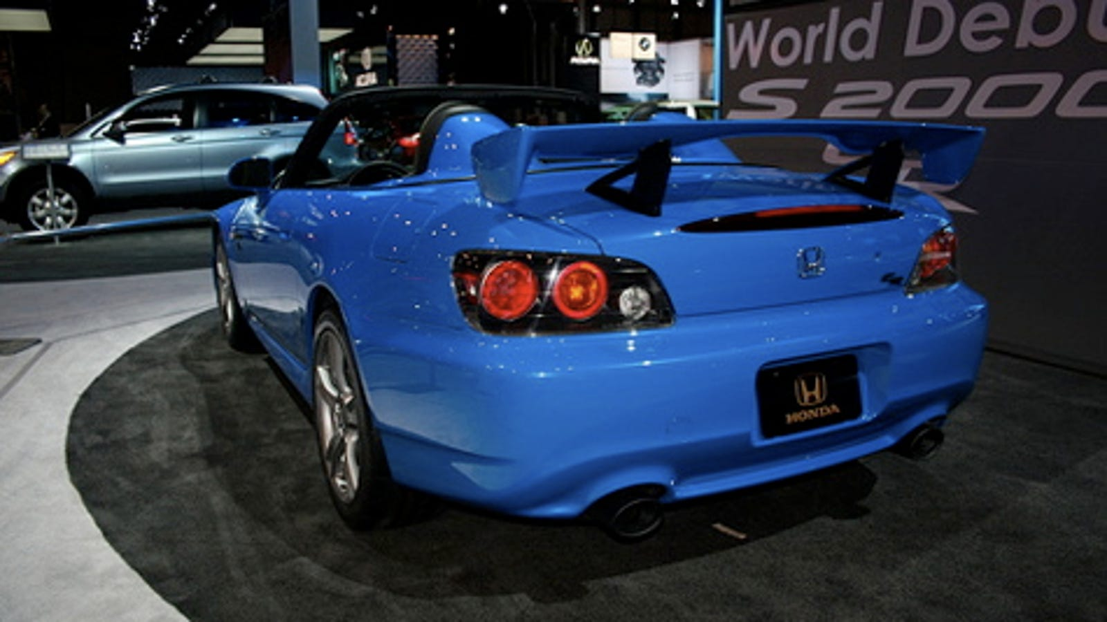 New York Auto Show In The Year 2008 Honda S2000 Cr Wiring Harness 2002