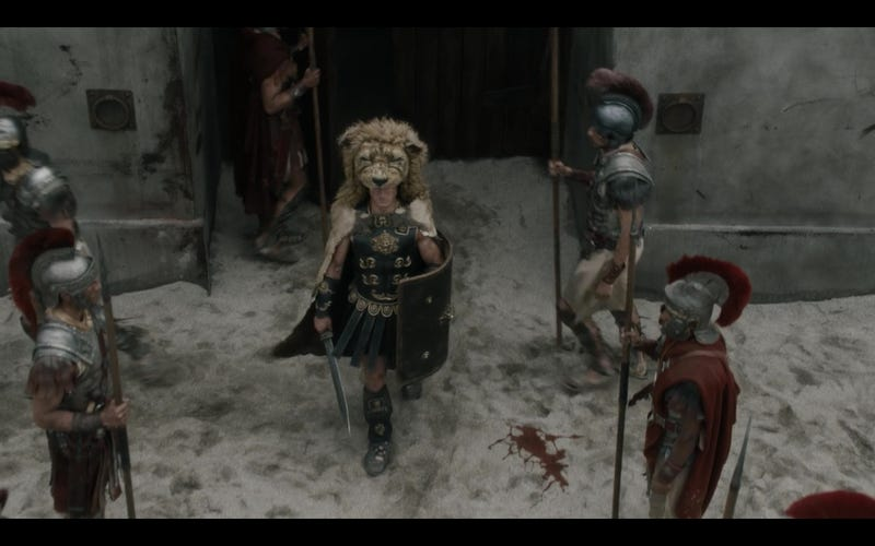 More dudes wearing lion heads may have helped. Image via Roman Empire: Reign of Blood.