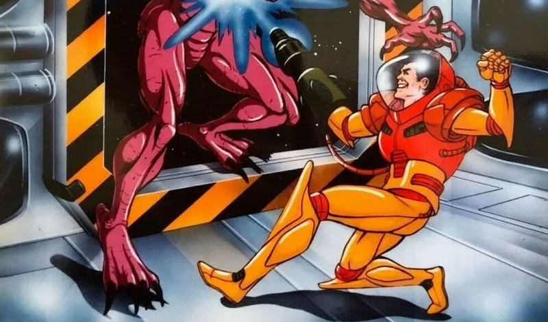 Illustration for article titled There Were Plans For A Metroid Cartoon, With Samus As A Man